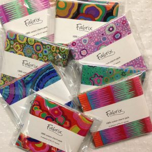 Charm Packs, Jelly rolls, Fat 8th rolls and other packs