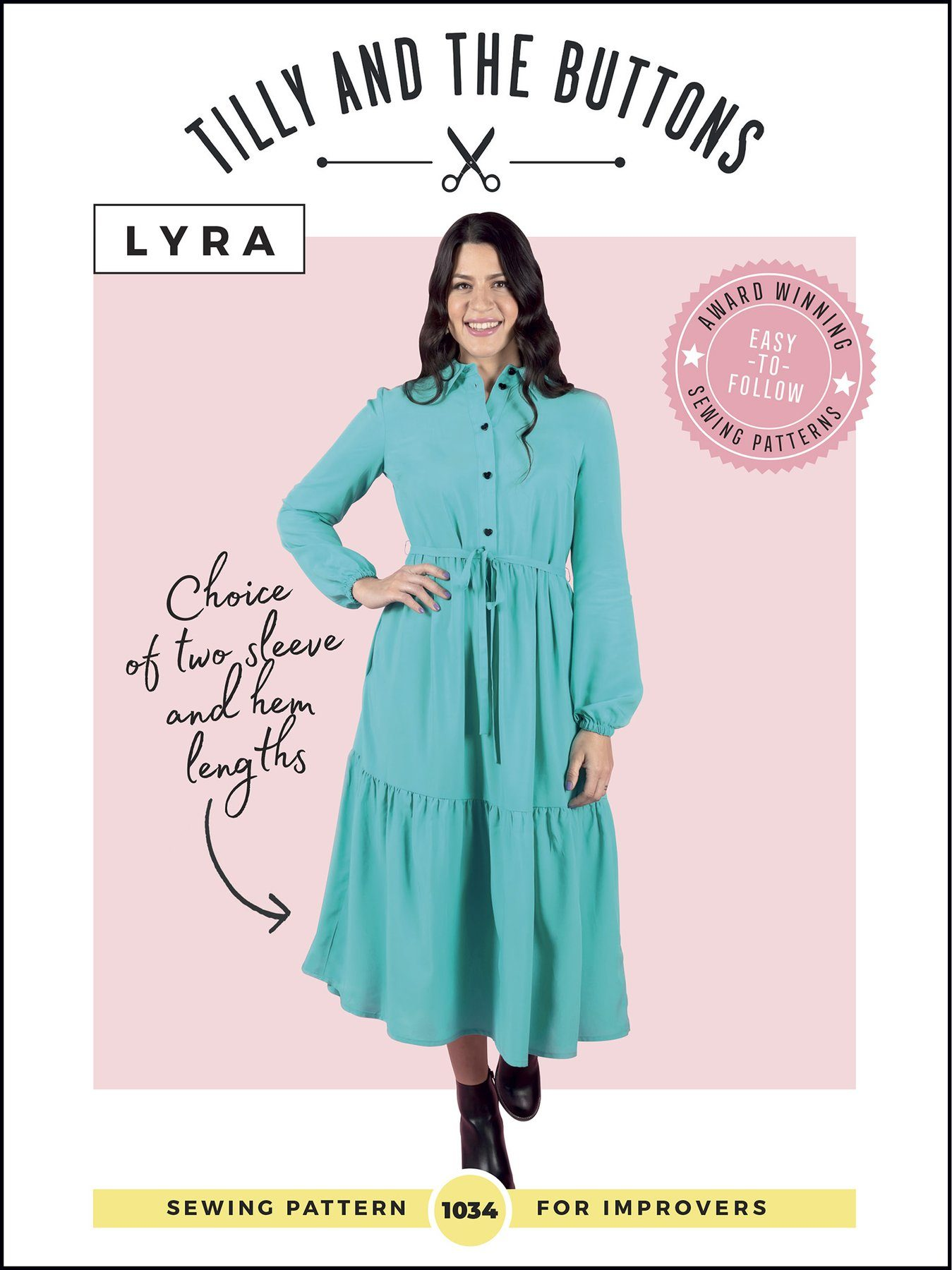 New Tilly and the Buttons Pattern – The Lyra Dress